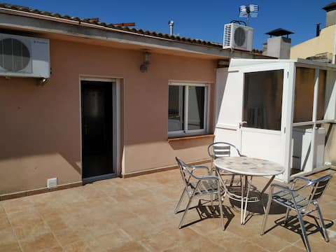 Apartament amb gran terrassa solejada