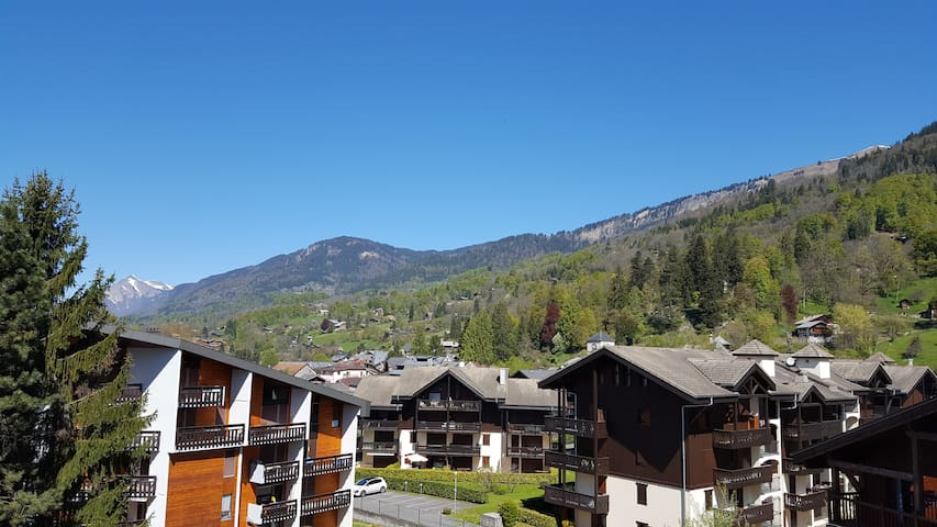 Studio apartment in Samoëns village for 4 - Samoëns - Apartment