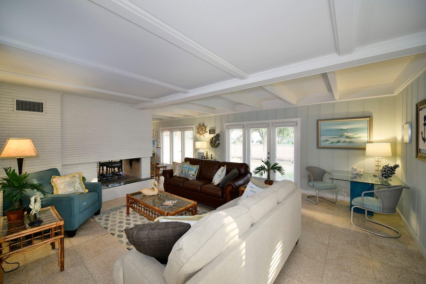 """Main House"" Spacious Living room with Sleeper Sofa"