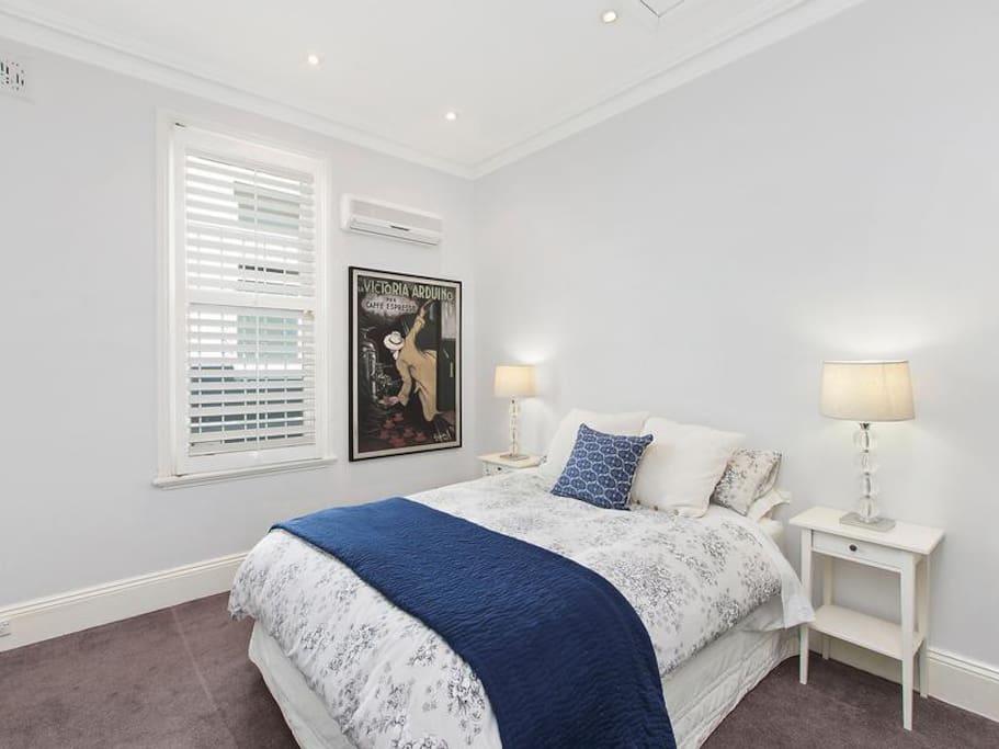 Warm welcoming bedrooms