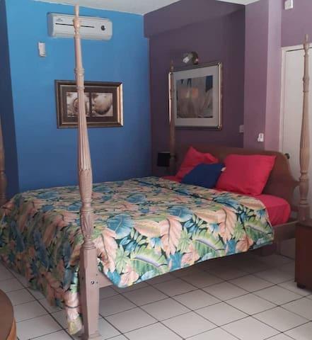 Pool side bedroom #AirConditioning or #NaturalAir