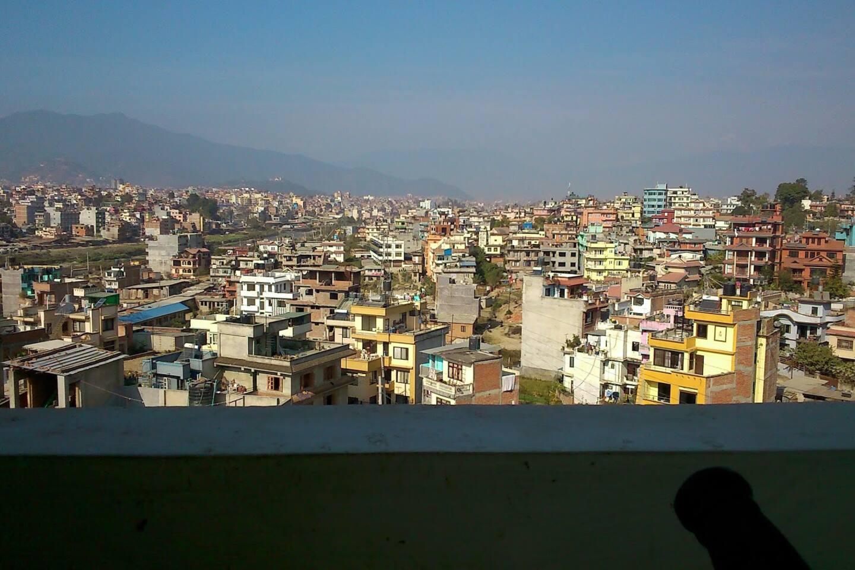 View of Swyambhunath
