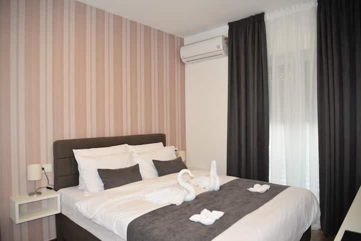 Double room at Hotel Vila Mihaela