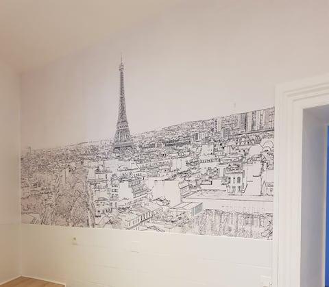 Paris yakınında rahat bir ev, kapalı Tren, Otopark dahil