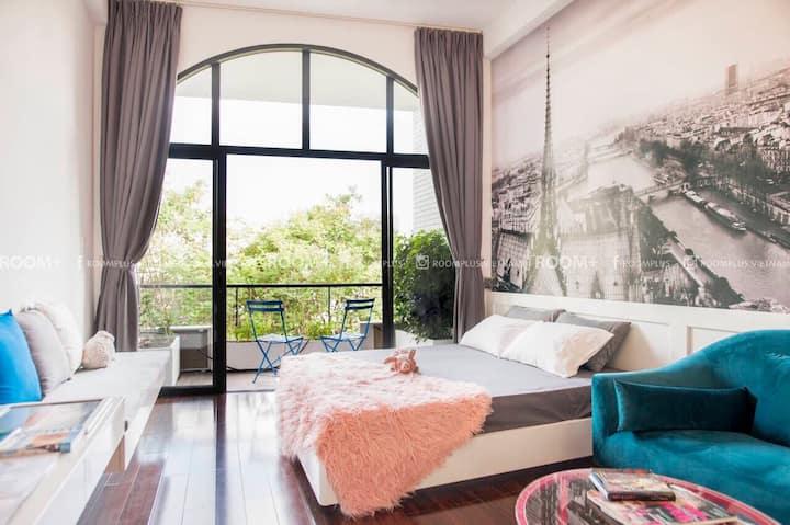 A beautiful Parisian-style apartment in Saigon