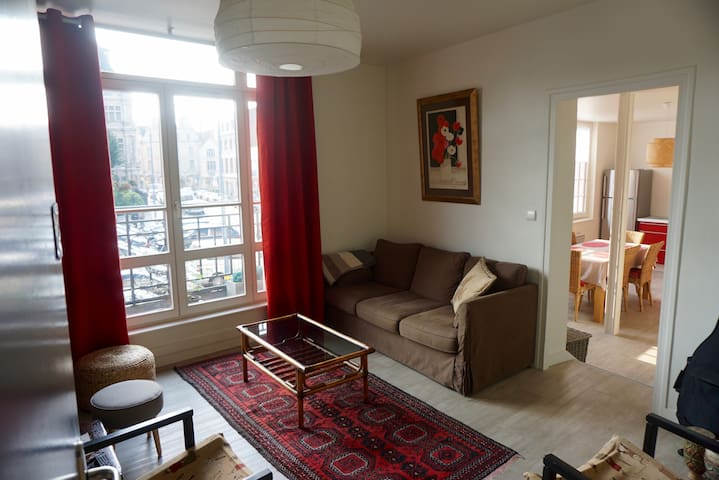 sunny flat view on belfry - Arras - Apartment