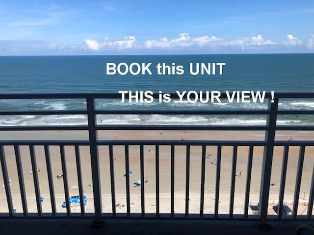 Ocean Walk Resort 1708i Private Ocean Front Balcony