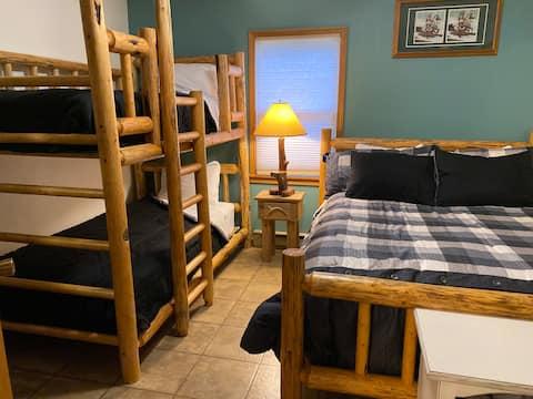 Moose Room  at Winchester Lake Lodge.