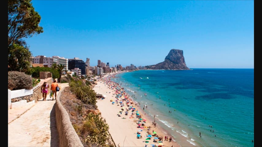 Calpe manzanera, piscina, parking 117