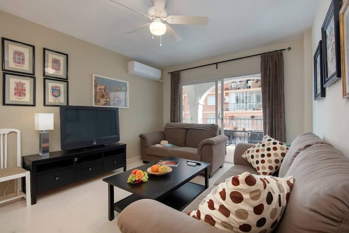 Fantastic 3 bedroom apartment for up to 7 people