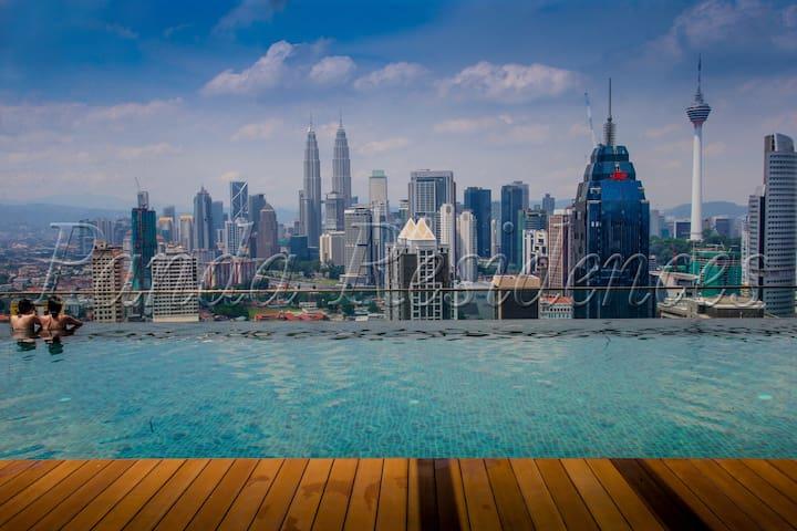 Cozy & Affordable Studio #8 KLCC 3Mins Train/Mall! - Kuala Lumpur - Apartament