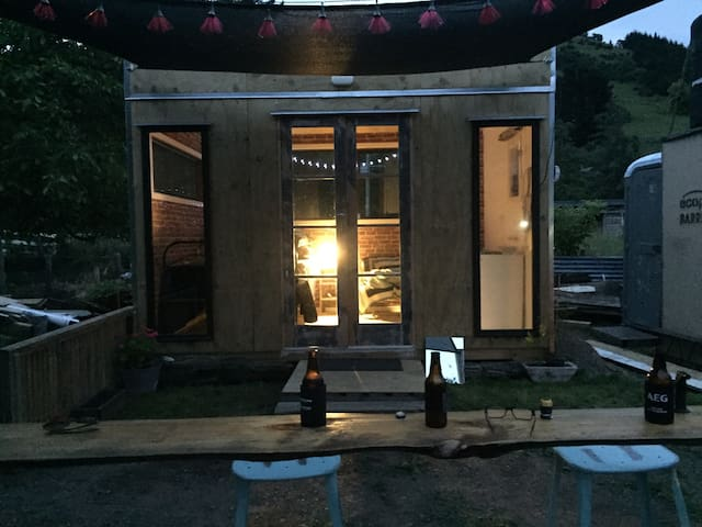 """""""Delkeith"""" is a 10sqm building for sleeping in"""