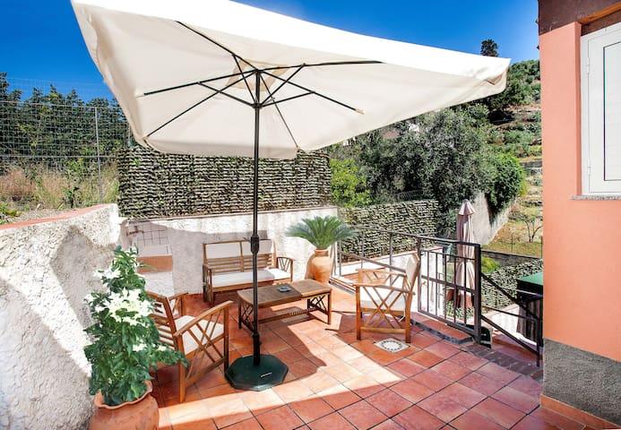 "Villa al mare ""Alecla"" near Taormina - Sant'Alessio siculo - Casa de camp"