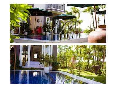 CHOOSE 2-UNIT in the 8-UNIT Riverside Pool Villa - Da Nang