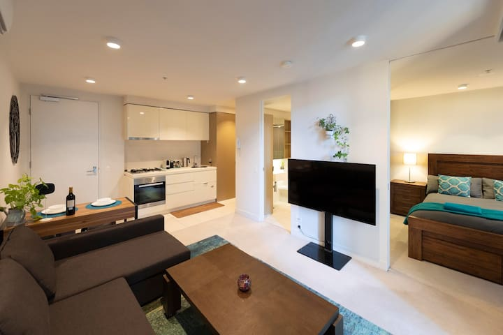 Living area -  Smart TV, Sofa bed