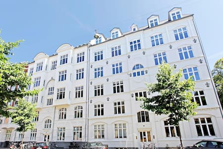 Homely renovated flat with garden - Frederiksberg - Apartemen