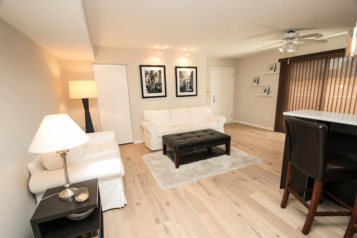 Newly Renovated 2BR Condo with Parking