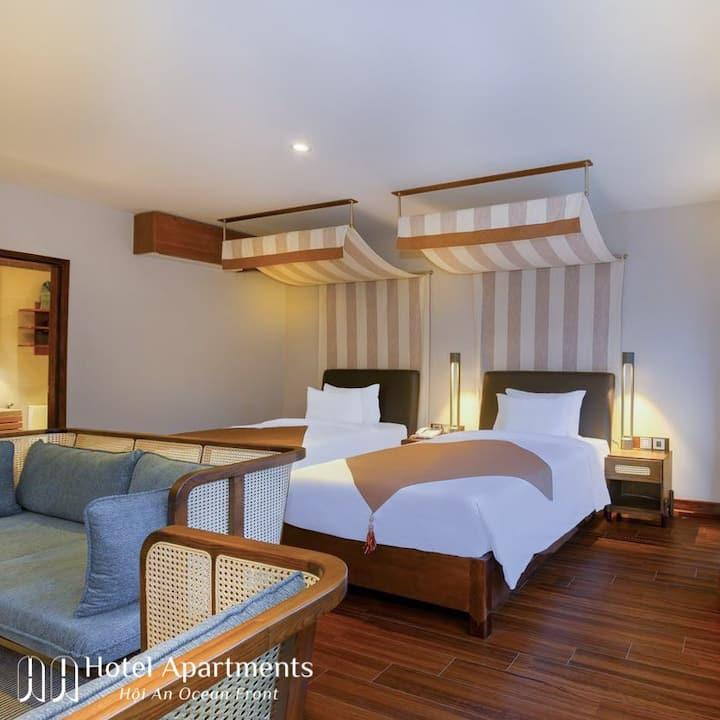 Maxi Two Bedroom Apartment Cua Dai Beach