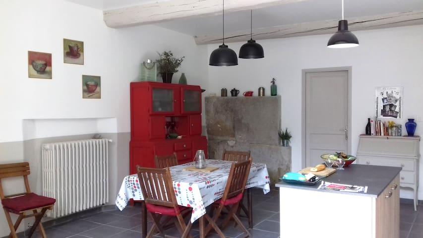 Espace CHAMBRE / SALON / SDB / WC chez l'habitant - Morières-lès-Avignon