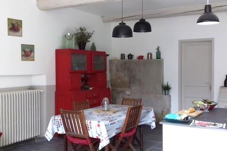 Espace CHAMBRE / SALON / SDB / WC chez l'habitant - Morières-lès-Avignon - Casa