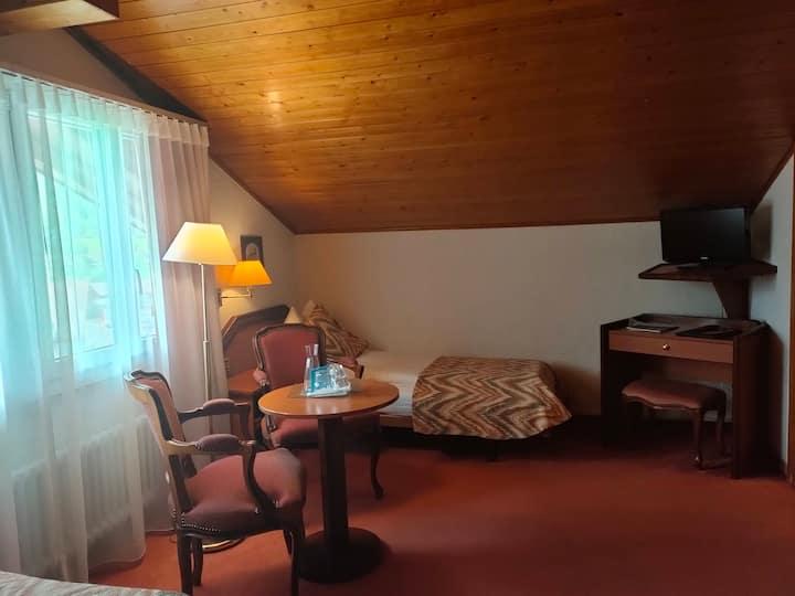 Vintage hotel room #448