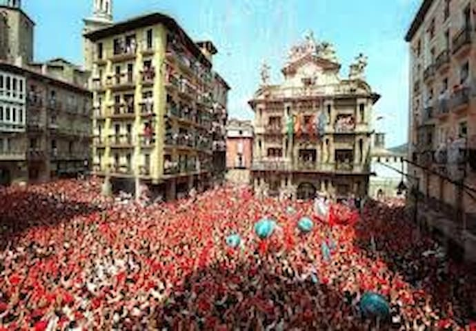SAN FERMIN BULL RUNNING APARTMENT - Pamplona - Pis