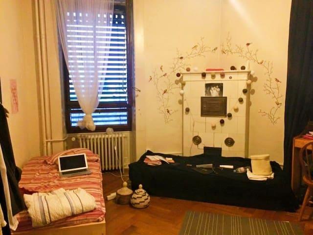 Room next to Gare Cornavin - - Ženeva - Byt