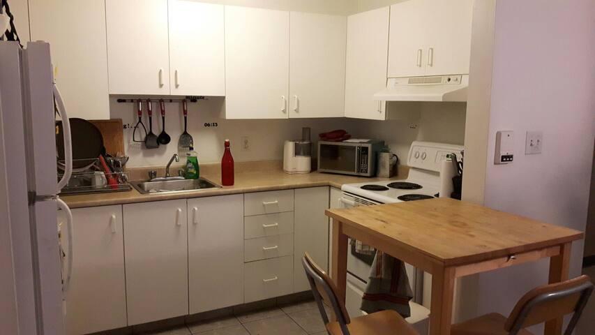 Et la cuisine !