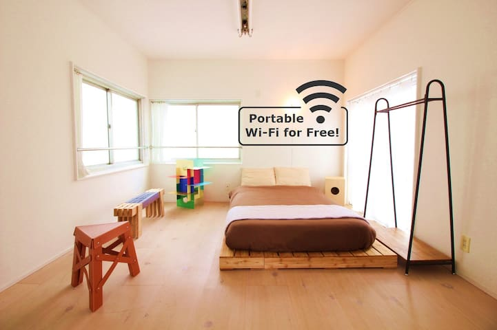 TOKYO BOUTIQUE ROOM with Pockt WIFI