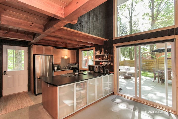 Kitchen - Is fully stocked for cooking and includes coffee machine, fondue pot, slow cooker