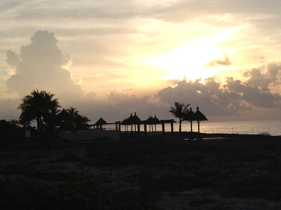 Dawn in Puerto Aventuras