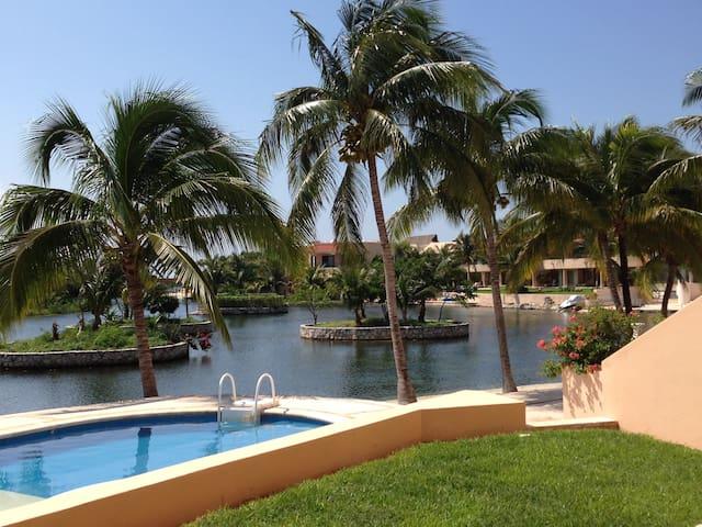 2BD RIVIERA MAYA WATERFRONT CONDO - Puerto Aventuras - Apartamento