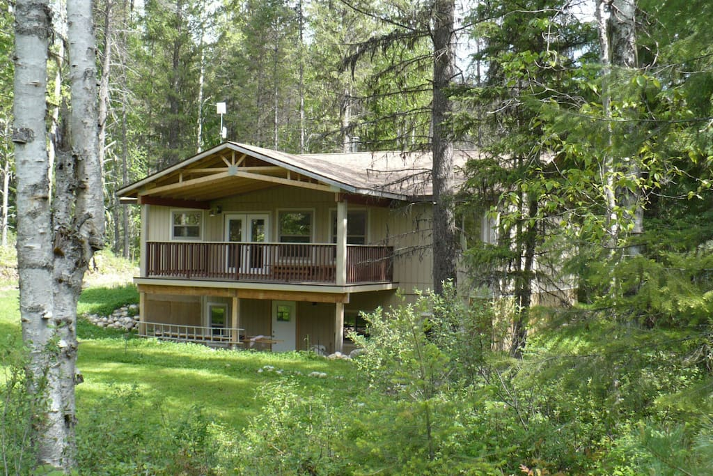 Rosebud Guesthouse Cottage Salmo Cabins For Rent In