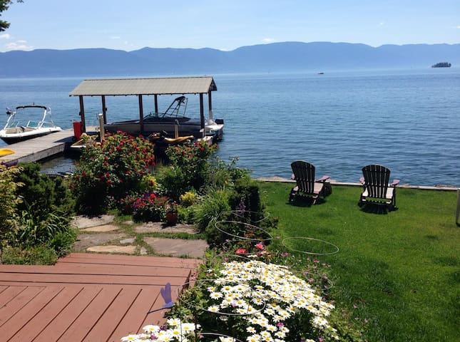 THE BEST OF MT! FLATHEAD LAKE LIFE! - Lakeside - Dům