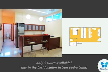 Executive-Suite. Fully furnished! - San Pedro Sula - Wohnung