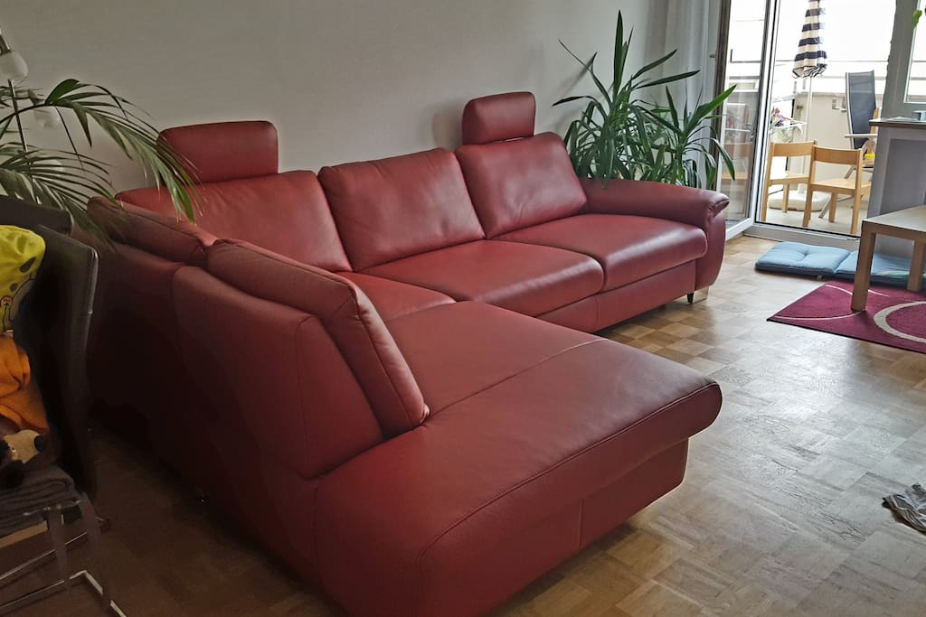 Living Room - bedcouch