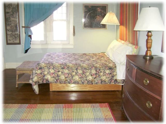 "private room in bed and breakfast morning glory bnb  ""blue room"""