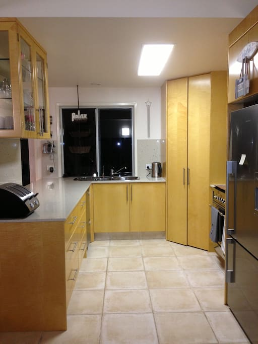 Kitchen. Stone benchtops.