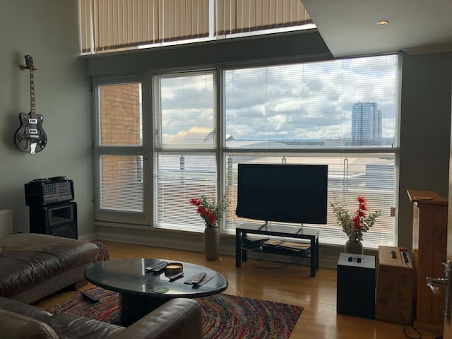 Penthouse Apartment (GLASGOW HYDRO very close!)