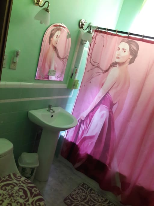 Bathroom  -  El baño