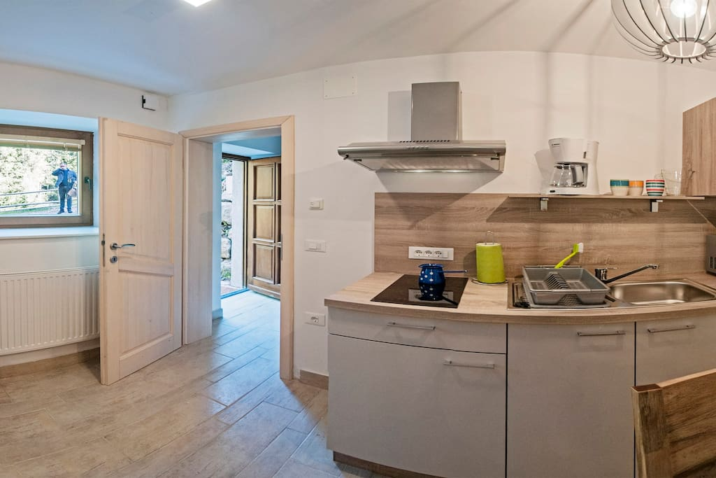 Apartment Rabbit*** is in the ground floor of Villa Vesna*** apartment house