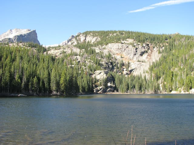 Take a hike around Bear Lake in Rocky Mountain National Park.