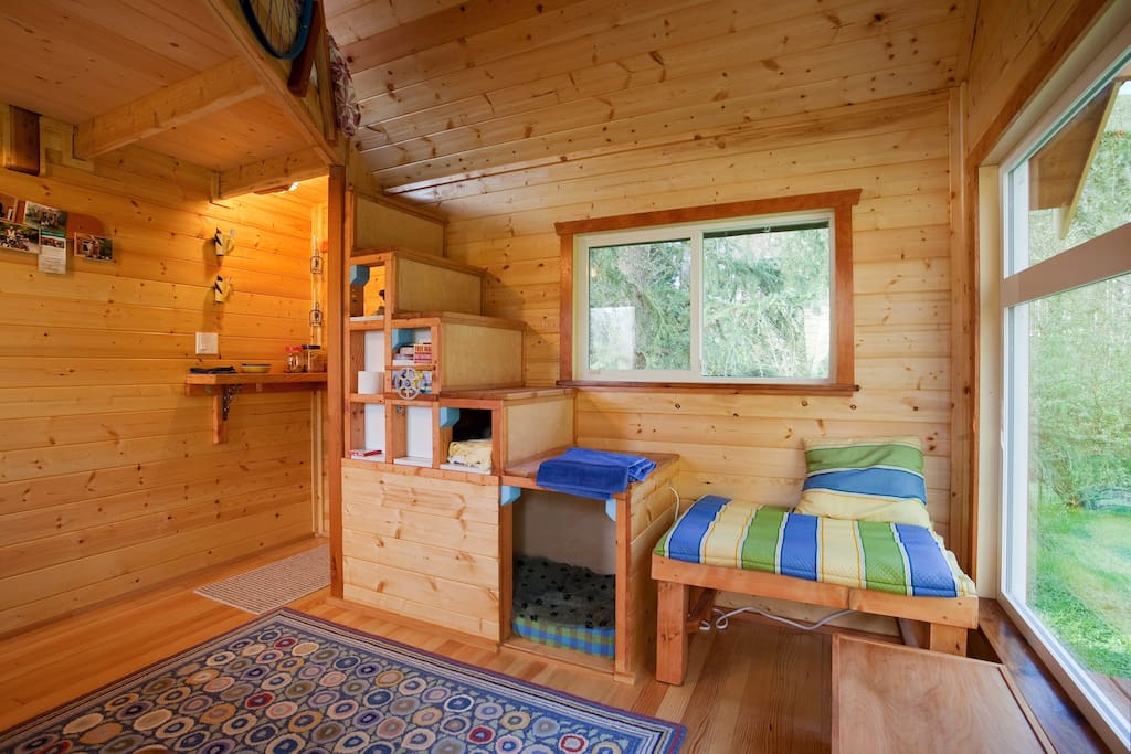 A Tiny House On A Tiny Farm Cabins For Rent In Victoria