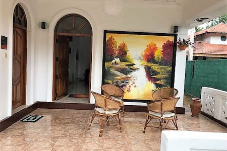 Calm Home in Negombo with Green Sorrounding