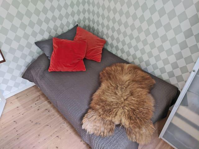 Second bedroom, dobble bed, 140 cm