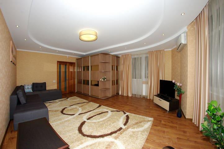 Просторная видовая квартира  - Cherkasy - Wohnung