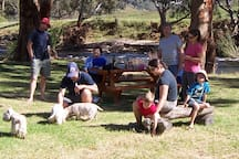 Have a picnic by the river with all the family