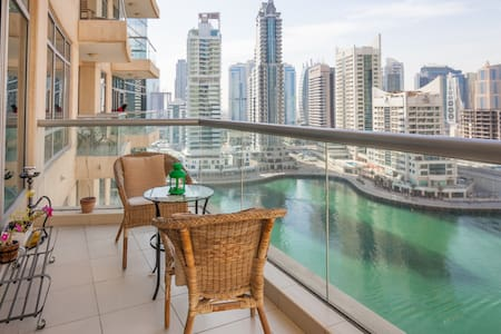 Luxury 1BHK with Marina & Sea View