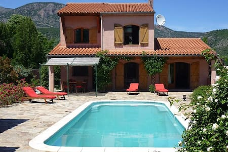 Villa Estelle, Mountain views, Garden, Parking - Fuilla