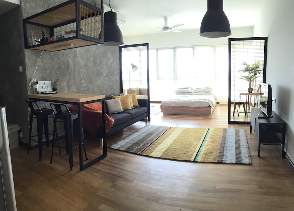 Designers' Studio Apt with Netflix! - Apartments for Rent ...